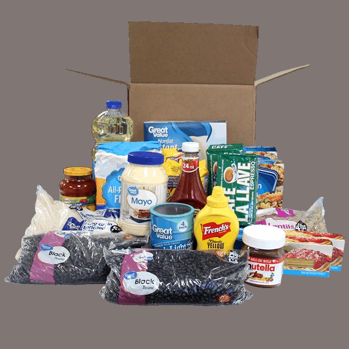 Combo de alimentos para enviar a venezuela