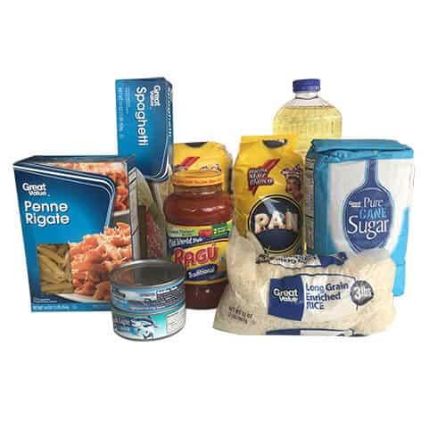 Envío de cajas de comida para enviar a Venezuela