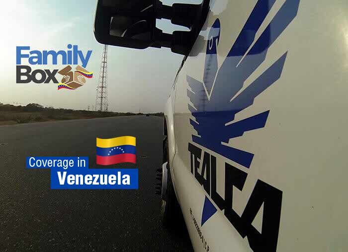 Food delivery in Venezuela