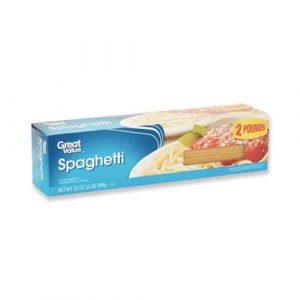 Spaguettis great value disponibles para enviar