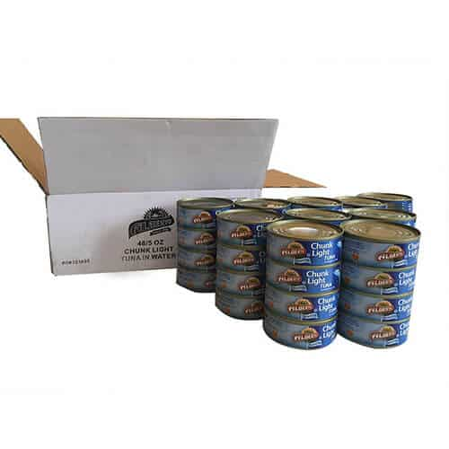 48 tuna in water cans