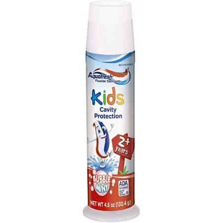 Aquafresh Crema dental infantil niños Venezuela