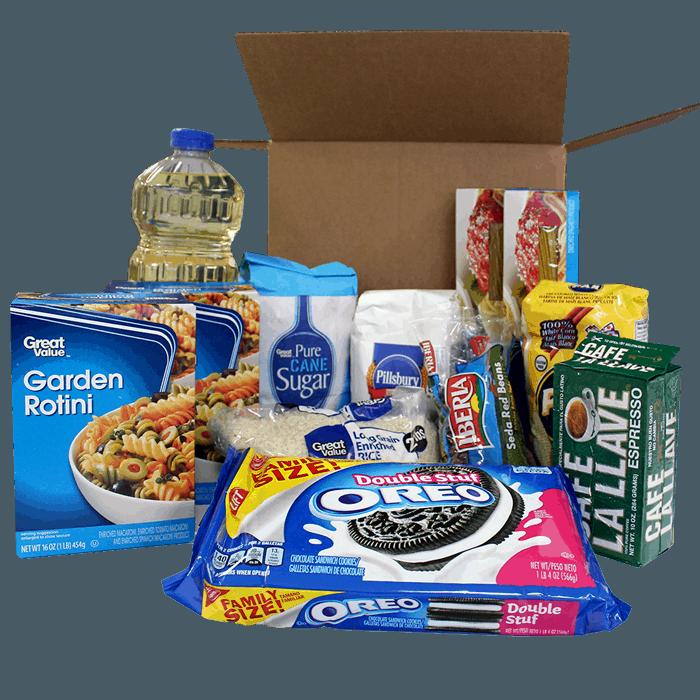 Combo de alimentos a venezuela Family Box