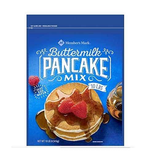 Mezcla para panquecas members mark pancake mix