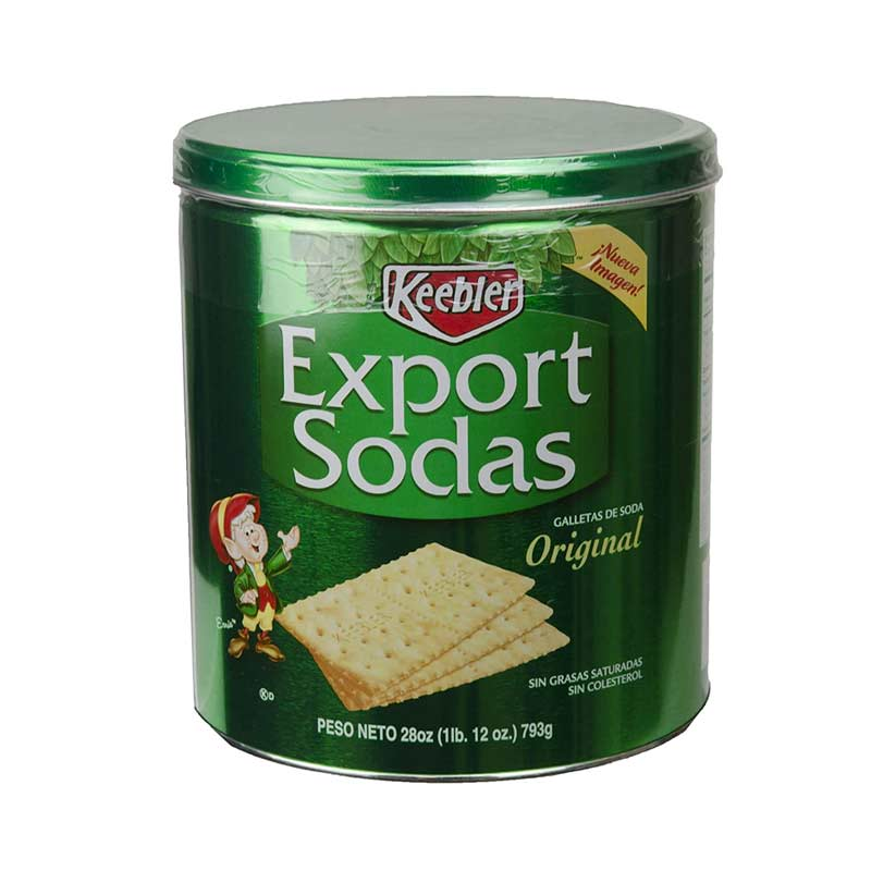 Galletas de soda Keebler Export sodas