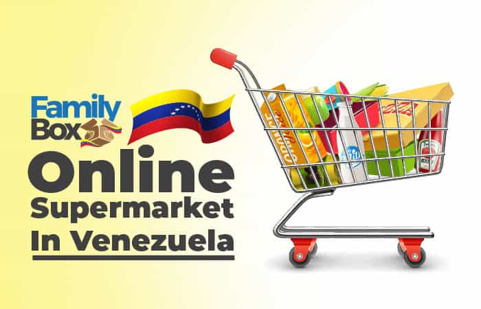 Online supermarket in Venezuela