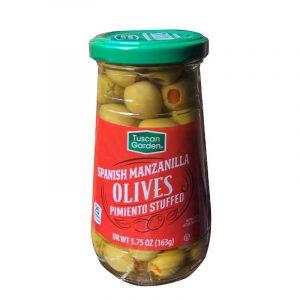 Tuscan Garden Spanish Manzanilla Olives Pimiento Stuffed
