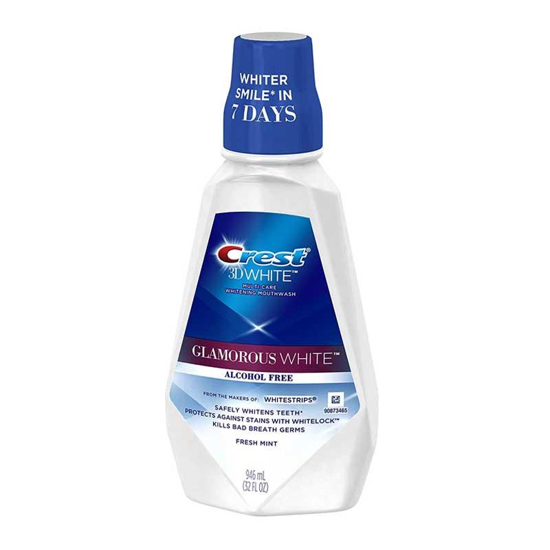 Crest 3d white mouthwash