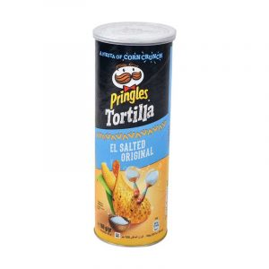 Pringles tortillas el salted original