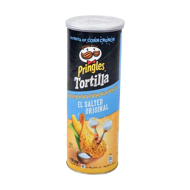 Pringles tortillas el salted original