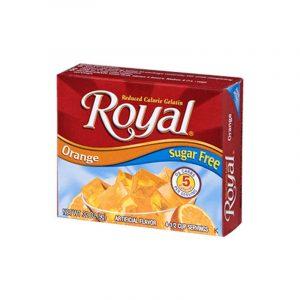 Royal Gelatina de naranja